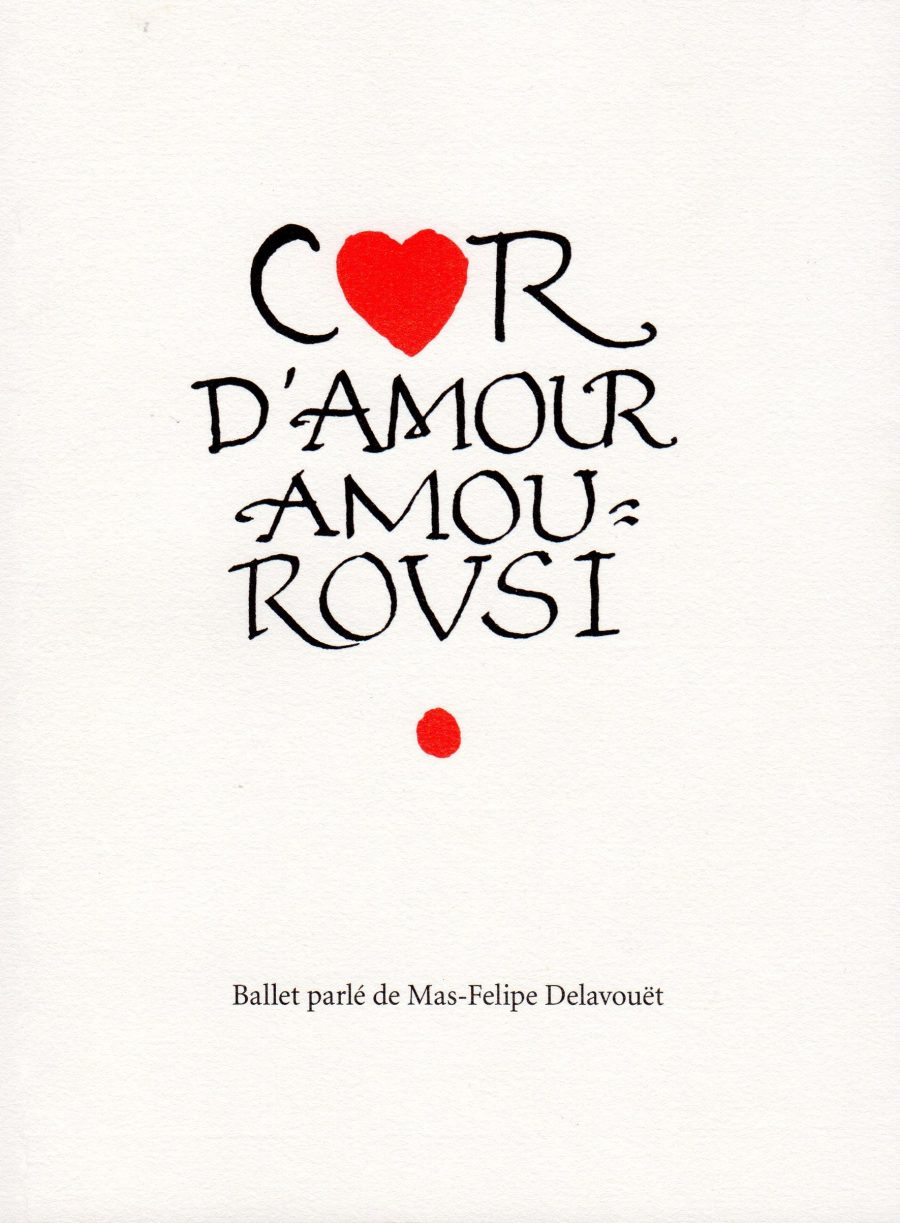 2011. Cor D'Amour Amourousi.