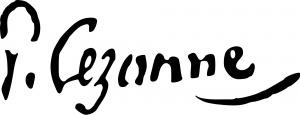 Cezanne_autograph